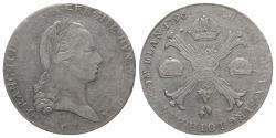 World Coins - Holy Roman Empire, Franz II (1792-1804). AR Kronentaler 1796, C Prague
