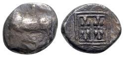 Ancient Coins - Illyria, Dyrrhachion, c. 340-280 BC. AR Stater