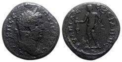 Ancient Coins - Geta (209-211). Thrace, Serdica. Æ - R/ Hermes