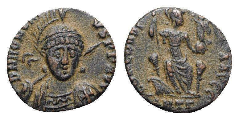 Ancient Coins - Honorius (393-423). Æ - Antioch