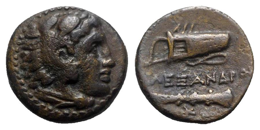 Ancient Coins - Kings of Macedon. Alexander III 'the Great' (336-323 BC). Æ