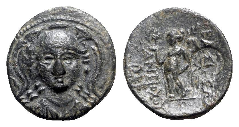 Ancient Coins - Seleukid Kings, Antiochos I (281-261 BC). Æ - R/ Nike