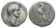"Ancient Coins - SELEUCIS and PIERIA, Antioch. Galba. AD 68-69. AR Tetradrachm. Dated ""New Holy Year"" 1 (AD 68). BOLD PORTRAIT"