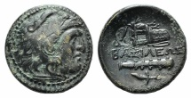 Ancient Coins - Kings of Macedon, Alexander III 'the Great' (336-323 BC). Æ 20mm. Uncertain mint in Western Asia Minor.