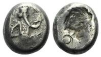Ancient Coins - Achaemenid Empire, time of Xerxes II to Artaxerxes II, c. 420-375 BC. AR Siglos