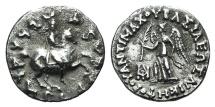 Baktria, Greco-Baktrian Kingdom. Antimachos II (c. 174-165 BC). AR Drachm