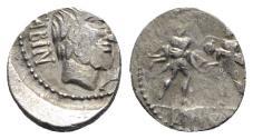 Ancient Coins - L. Titurius L.f. Sabinus, Rome, 89 BC. AR Denarius