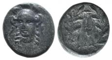 Ancient Coins - Phokis, Federal Coinage, c. 351 BC and later. Æ 14mm. Struck under Phalaikos or later.