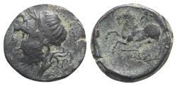 Ancient Coins - ITALY. Apulia, Arpi, c. 325-275 BC. Æ 15mm R/ HORSE