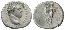 Ancient Coins - Titus (79-81). Cappadocia, Caesarea-Eusebia. AR Drachm