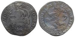 World Coins - Netherlands, West Friesland. AR Leeuwendaalder - 48 Stuivers 1605. R/ Lion rampant