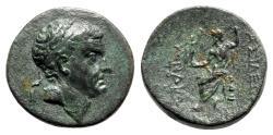 Ancient Coins - Cilicia, Anazarbos. Tarkondimotos I Philantonios (King of Eastern Cilicia, c. 39-31 BC). Æ