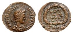 Ancient Coins - Gratian (367-383). Æ - Cyzicus