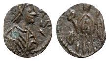 Ancient Coins - Vandals, Thrasamund (496-523). Æ Nummus - Carthage - EXCEPTIONAL
