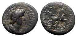 Ancient Coins - Phrygia, Cotiaeum. Pseudo-autonomous issue, time of Vespasian (69-79). Æ - Ti Klaudi Papylos, magistrate