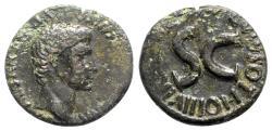 Ancient Coins - Augustus (27 BC-AD 14). Æ As - Rome; M. Salvius Otho, moneyer