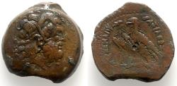 Ancient Coins - Ptolemaic Kings of Egypt, Ptolemy II Philadelphos (285-246 BC). Æ Drachm