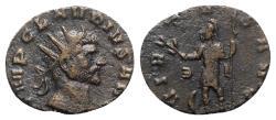 Ancient Coins - Claudius II (268-270). Radiate - Rome - R/ Virtus