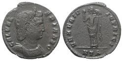 Ancient Coins - Galeria Valeria (Augusta, 293(?)-311). Æ Follis. Heraclea, 309-10. R/ Venus