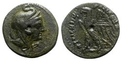 Ancient Coins - Ptolemaic Kings of Egypt, Ptolemy VI Philometor (180-164 BC). Æ Penthemiobol