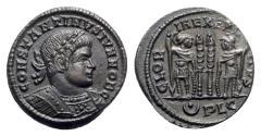 Ancient Coins - Constantine II (Caesar, 316-337). Æ Follis - Lugdunum