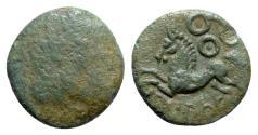 Ancient Coins - Celtic, Gaul. Bituriges, c. 100-60 BC. Æ