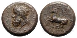 Ancient Coins - Sicily, Syracuse, c. 339/8-334 BC. Æ Dilitron