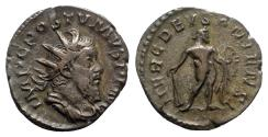 Ancient Coins - Postumus (260-269). AR Antoninianus - Treveri - R/ Hercules