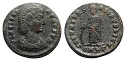 Ancient Coins - Helena (Augusta, 324-328/30). Æ Follis - Cyzicus - R/ Securitas