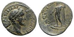 Ancient Coins - Antoninus Pius (138-161). Phrygia, Ancyra. Æ - P. Ai.(?) Loup(p)os, first archon