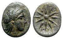 Ancient Coins - Mysia, Gambrion, after 350 BC. Æ - Apollo / Star