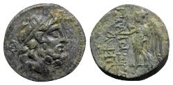 Ancient Coins - Islands of Cilicia, Elaioussa Sebaste, 1st century BC. Æ - Zeus / Nike