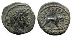 Ancient Coins - Marcus Aurelius (161-180). Thrace, Philippopolis. Æ - R/ Lion