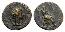 Ancient Coins - Caria, Heraclea Salbace. Pseudo-autonomous issue, c. 1st century AD. Æ - Apollonios Apolloniou, magistrate - RARE