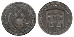 World Coins - Canada, Nova Scotia. Æ Token 1816. Payable at W.A. & S. Black's Halifax N.S.