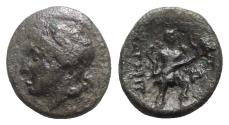 Ancient Coins - Thessaly, Magnetes, mid 2nd century BC. Æ Chalkous