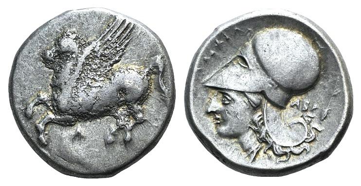Ancient Coins - AKARNANIA, Argos Amphilochikon. Circa 340-300 BC. AR Stater