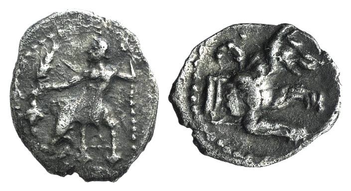 Ancient Coins - Lycaonia, Laranda, c. 324/3 BC. AR Obol