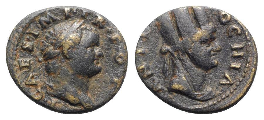 Ancient Coins - Titus (Caesar, 69-79). Seleucis and Pieria, Antioch. Æ