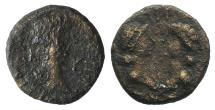 Ancient Coins - Britannicus with Octavia and Antonia (AD 41-55). Mysia, Cyzicus. Æ 11mm RARE