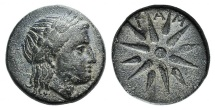 Ancient Coins - Mysia, Gambrion, after 350 BC. Æ 16mm