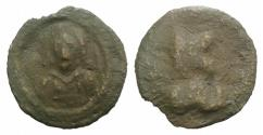 Ancient Coins - Constantine VII Porphyrogenitus. 913-959. Æ 17mm. Cherson mint. Crowned bust facing RARE