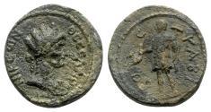 Ancient Coins - Macedon, Thessalonica. Pseudo-autonomous issue, c. 1st-2nd century AD. Æ