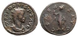 Ancient Coins - Probus (276-282). Radiate / Antoninianus - Lugdunum - R/ Minerva