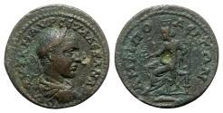 Ancient Coins - Severus Alexander (222-235). Macedon, Amphipolis. Æ - R/ Amphipolis enthroned