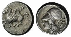 Ancient Coins - CORINTHIA, Corinth. Circa 345-307 BC. AR Stater
