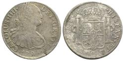 World Coins - Mexico, Carlos IV (1788-1808). AR 8 Reales 1795 FM, Mexico City