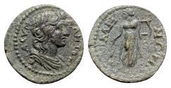 Ancient Coins - Mysia, Germe. Pseudo-autonomous issue, time of the Antonines. Æ - Senate / Apollo