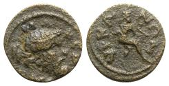 Ancient Coins - Lydia, Hyrcanis. Pseudo-autonomous issue, time of Commodus to Caracalla (177-217). Æ - RARE