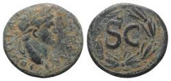 Ancient Coins - Domitian (81-96). Seleucis and Pieria, Antioch. Æ 23mm. AD 81-3.